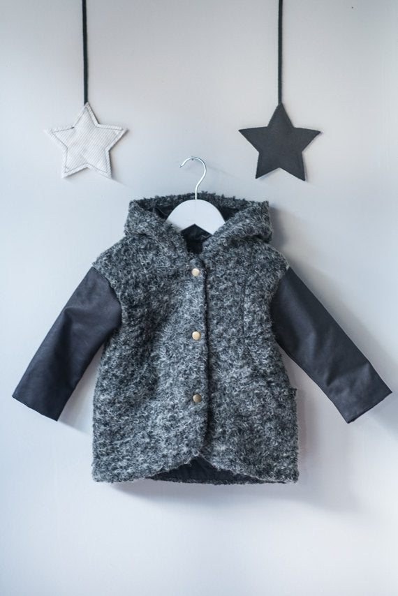 HUMPTY DUMPTY Coat - Grey