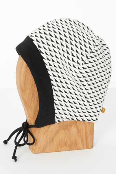 Tuque Cokluch Mini LINOTTE Blanc Triangles