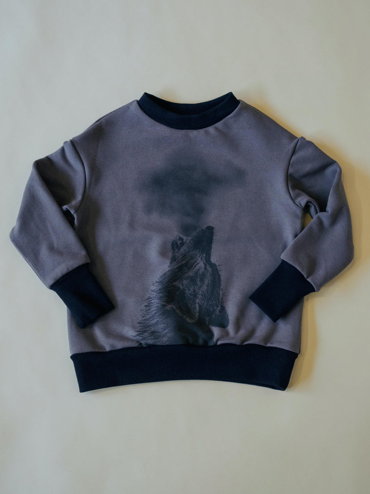Top LOUP - Charcoal