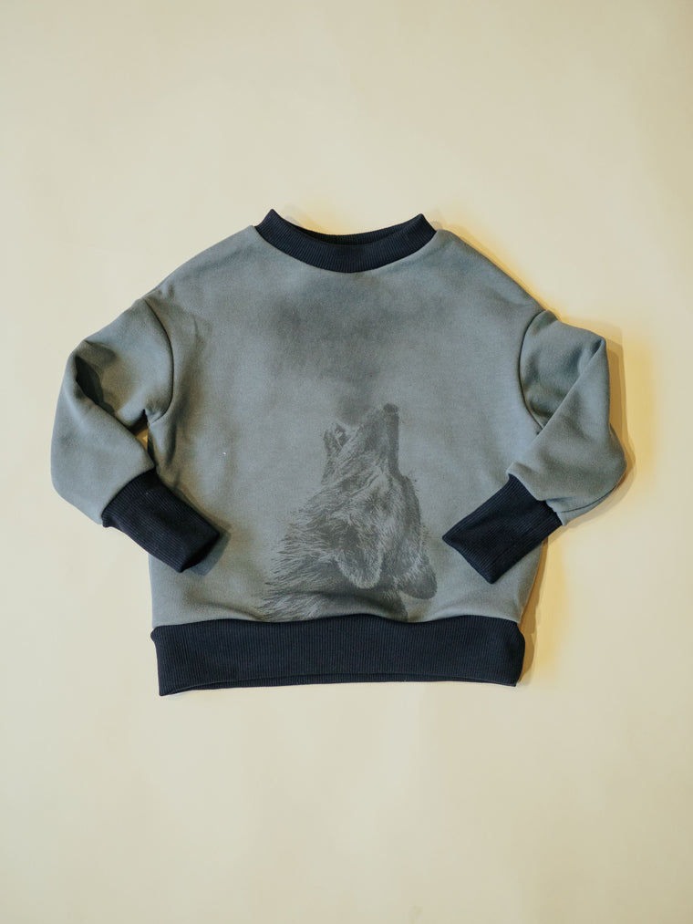 Top LOUP - Green Grey