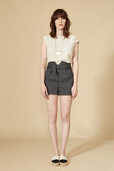 HIROLA Short — Black Striped