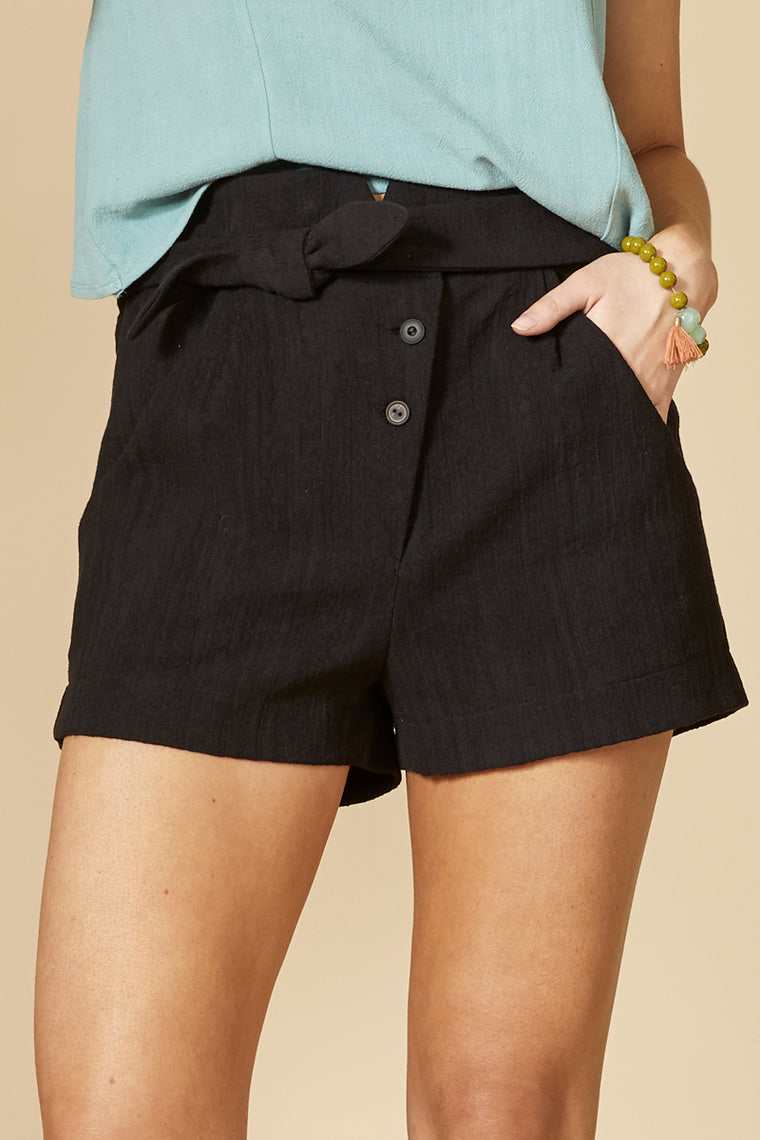 HIROLA Short — Black