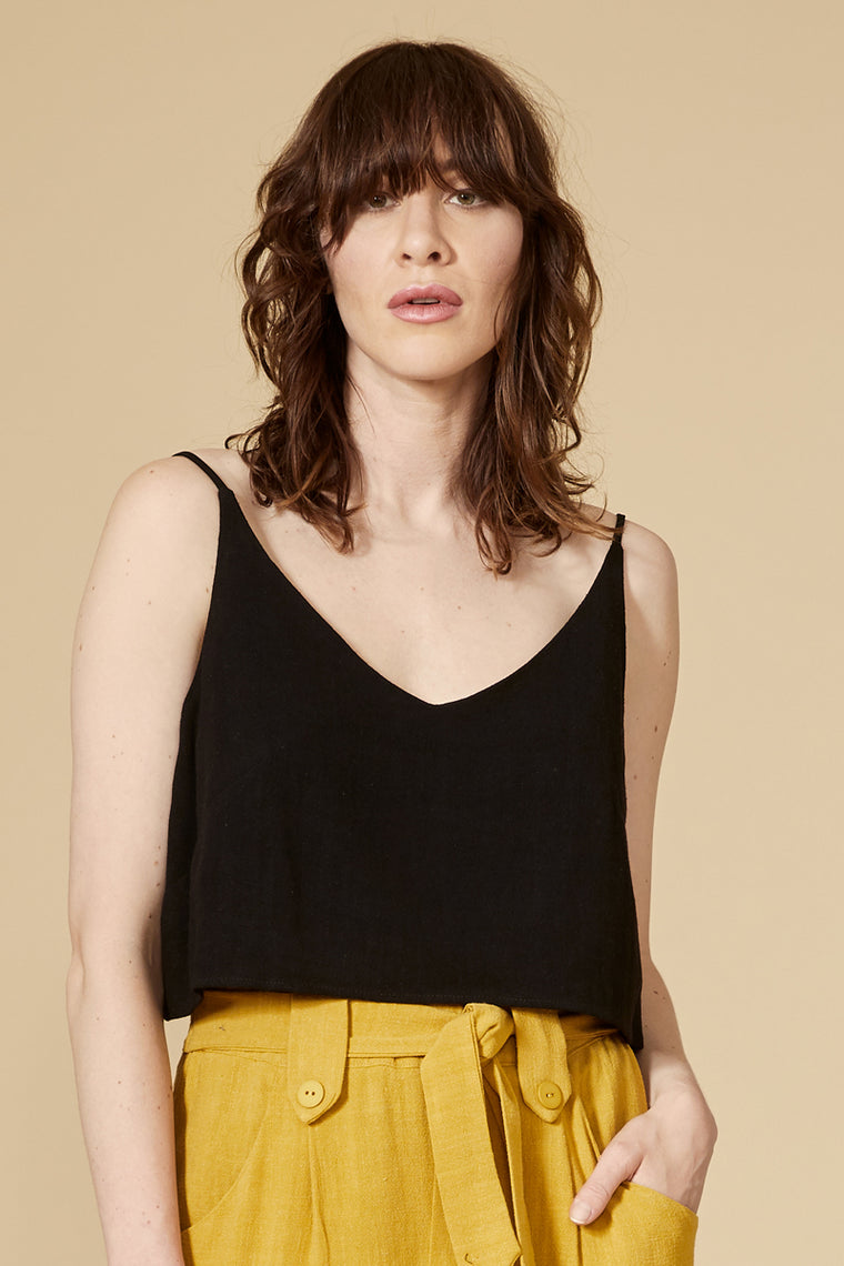 MARULA Top — Black