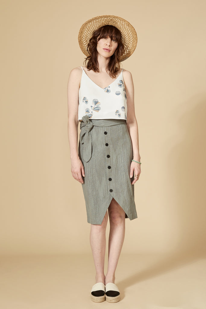 VIGOGNE Skirt — Dove