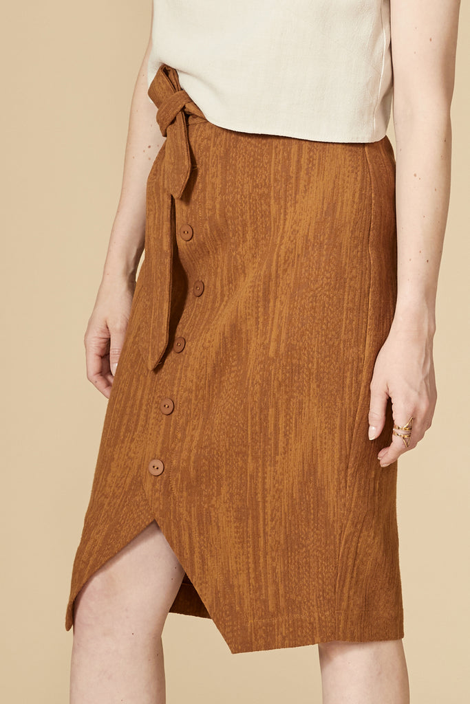 VIGOGNE Skirt — Toffee