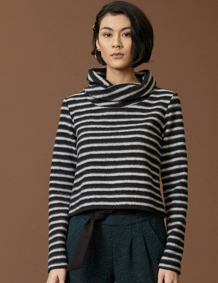 Top MUSCA - Striped Fleece