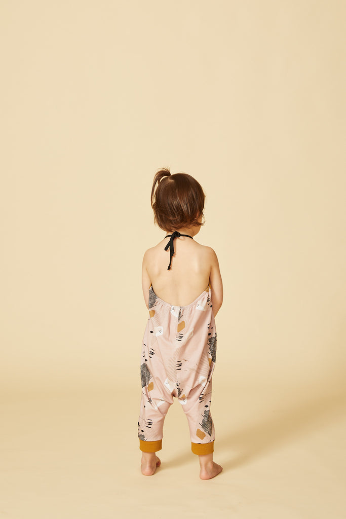 Jumpsuit NYALA — Safari Blush