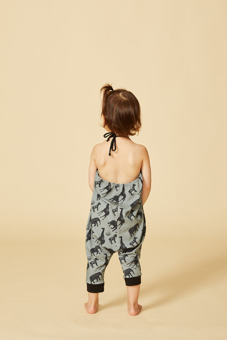Jumpsuit NYALA — Safari Aqua