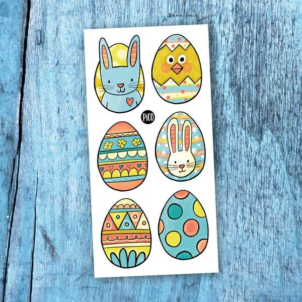 Temporary tattoo - Easter