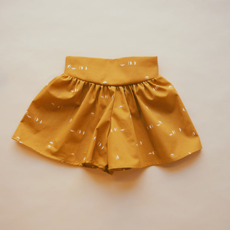 SPLASH Divided Skirt — Ocher