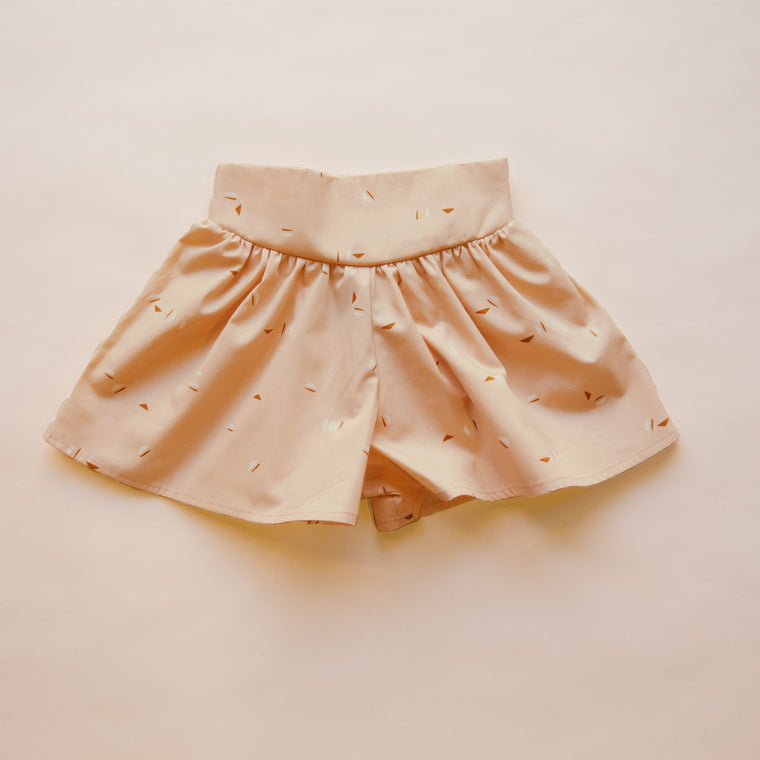 SPLASH Divided Skirt — Peach
