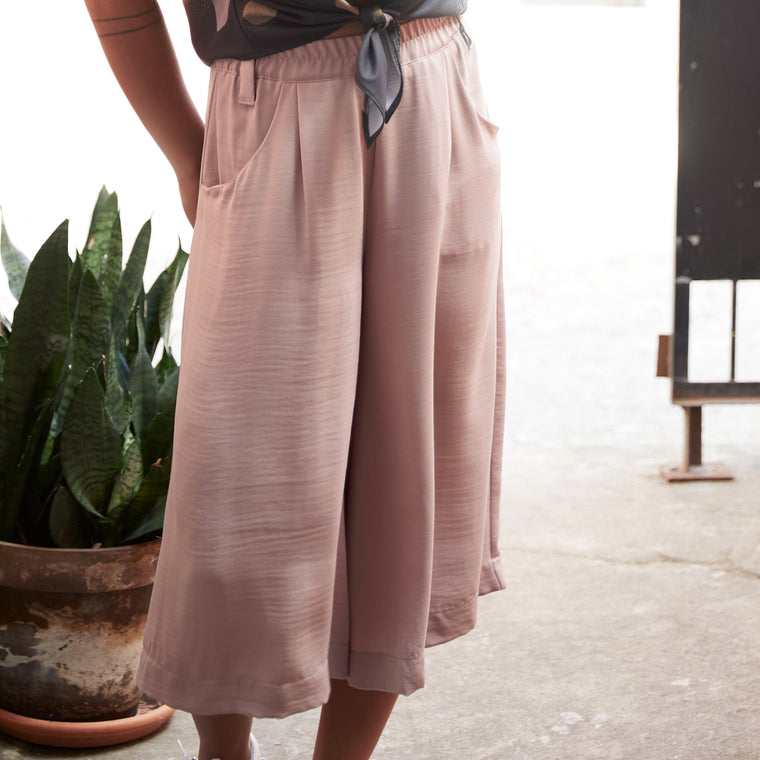 TADOUSSAC divided skirt - Blush