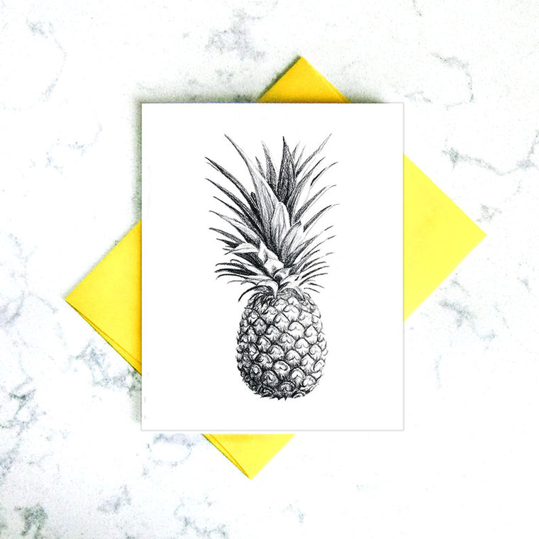 Greeting Card - Pineapple