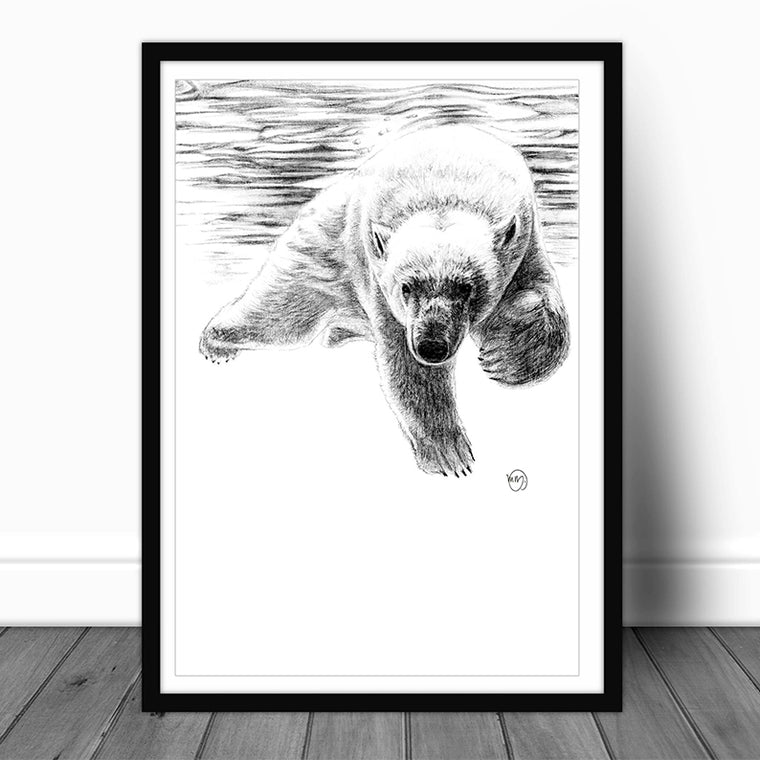 Art Print - Polar Bear