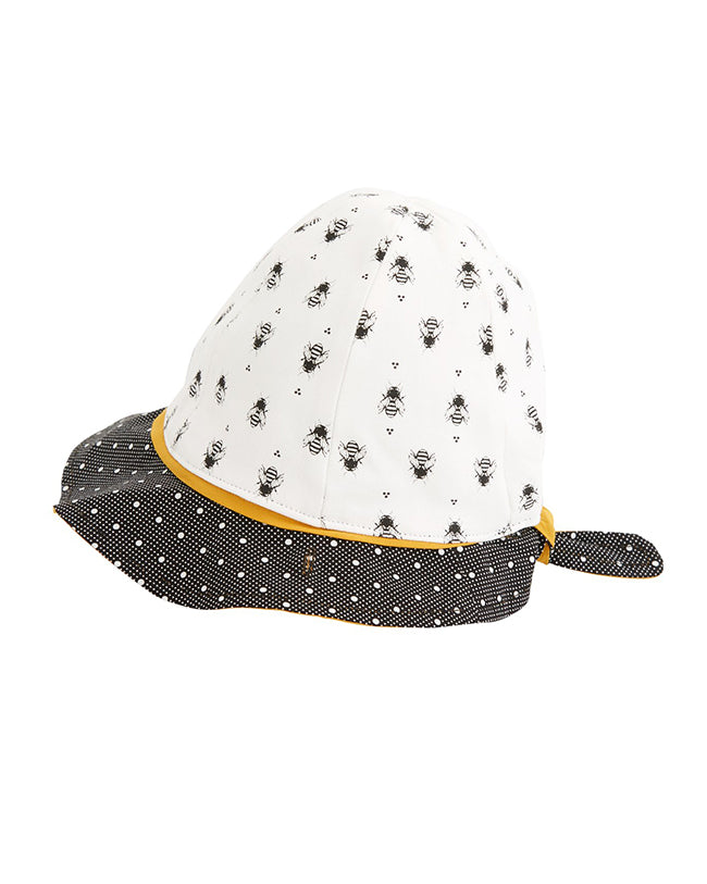 PLAGE reversible hat - Bees