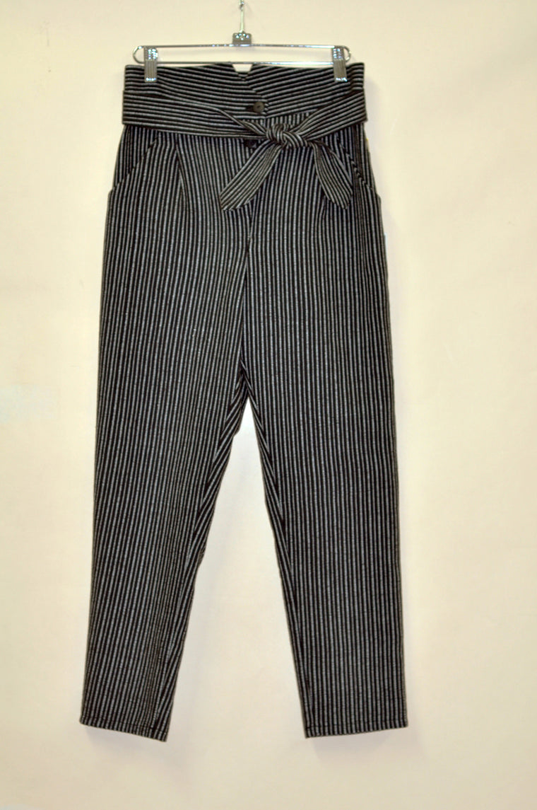 SANDSTORM Pants — Black Striped