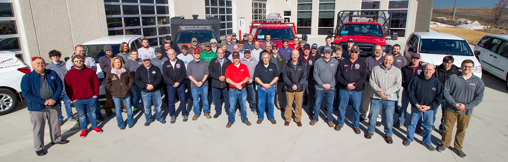 Heiman Fire Equipment Team Picture