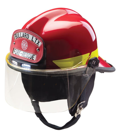 Heiman Fire Equipment - Bullard LTX Helmet with Traklite