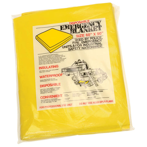 Heiman Fire Disposable Blanket