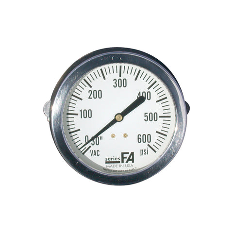 Heiman Fire Equipment Water Pressure Gauge