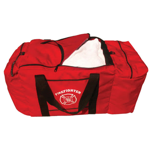 Heiman Fire Equipment - Pull Top Gear Bag, Red