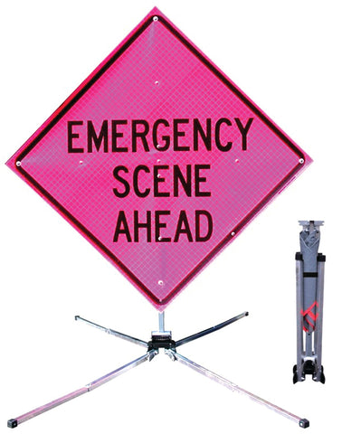 Heiman Fire Equipment - Fold & Roll Traffic Sign