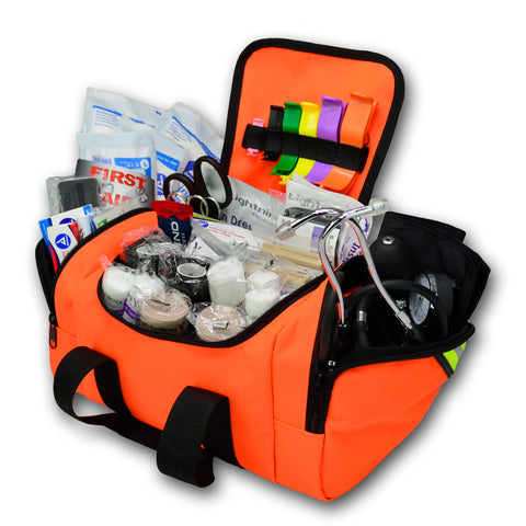 Compact First Responder Trauma Bag w/ Standard Fill Kit- LXMB10-SKB