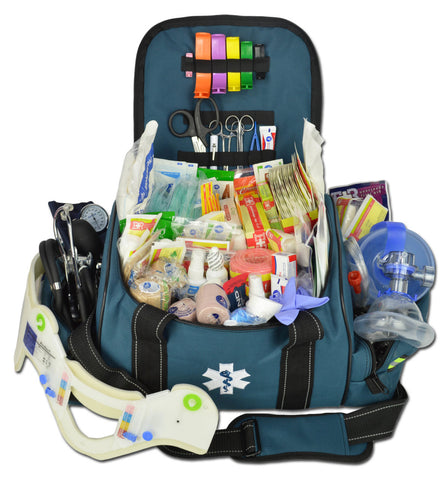 Deluxe Large EMT Trauma Bag w/ Fill Kit C - LXMB30-SKC