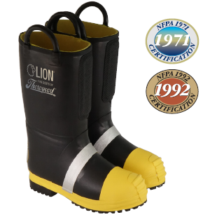 HellFire Kevlar® Insulated Rubber Structural Boots - Men's