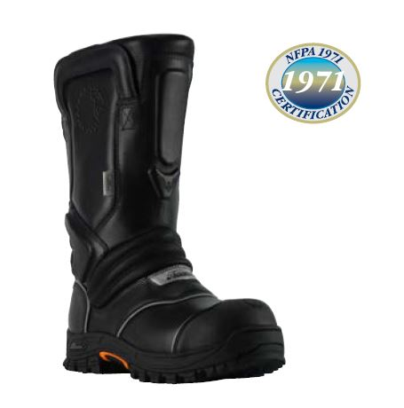 "QR14 - 14"" Pull-On Leather Structural Boot Men's"