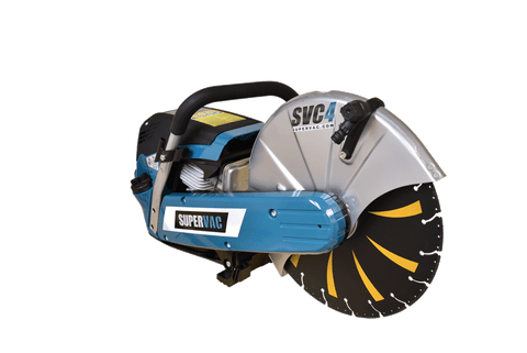 SUPERVAC SVC4-14 Rescue CutOff Saw and Blades