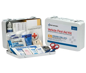 25-Person Vehicle First Aid Kit, Metal