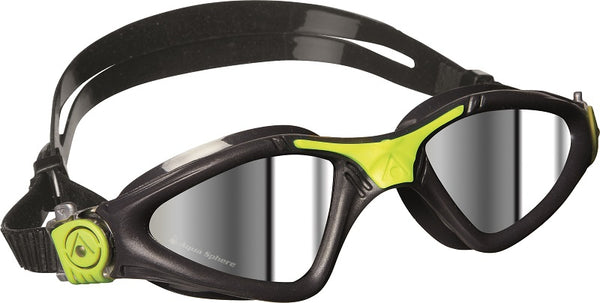 GOGGLE KAYENNE GREY/LIME MIRRORED
