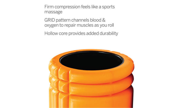 RODILLO TRIGGER POINT GRID Foam Roller Naranja