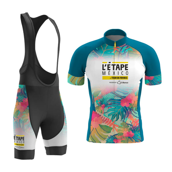 BiB Short y Jersey La Etapa Tropical Forest Dama