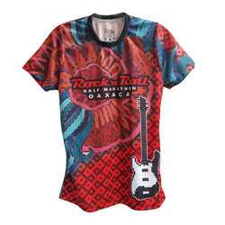 Playera Tech RR Oax Dama Roja