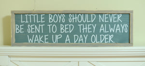 Boy Bedroom Sign - Boy Bedroom Wall Art