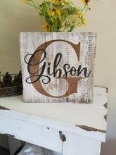 Est. Barn Wood Sign