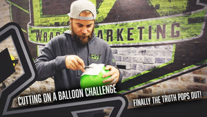 Cutting on a Balloon Challenge | CW Wraps