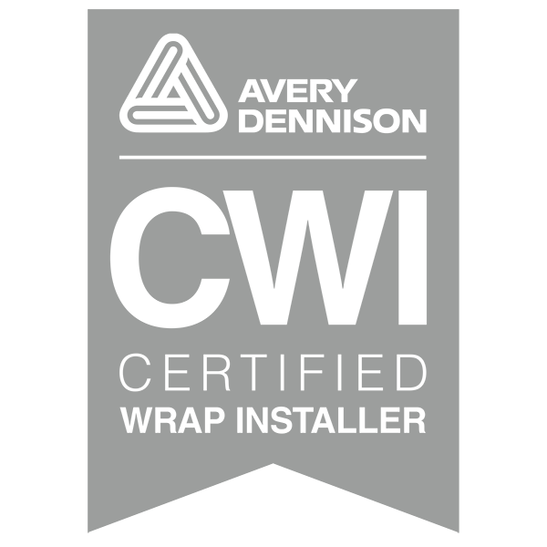 CW Wraps is an Avery Certified Wrap Installer