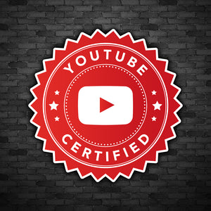 YouTube Certified Decal