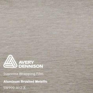 Avery Aluminum Brushed Metallic