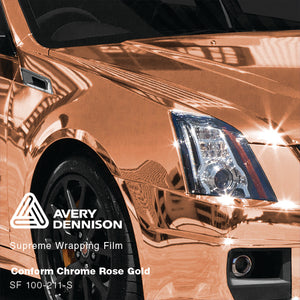 Avery Rose Gold Chrome