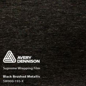 Avery Black Brushed Metallic