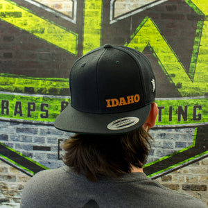 The Idaho Flat Bill Snapback Hat