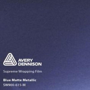 Avery Blue Matte Metallic