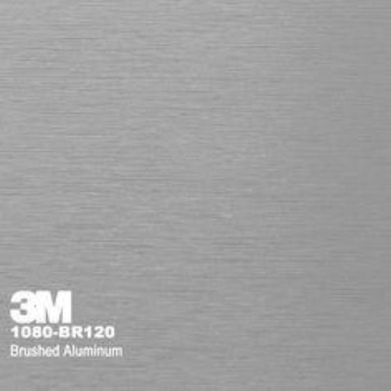 3M Brushed Aluminum