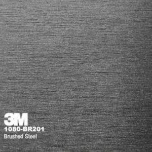 3M Brushed Steel