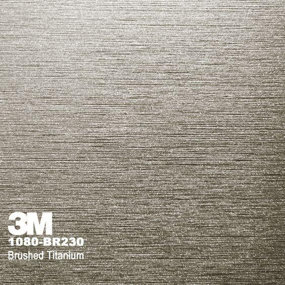 3M Brushed Titanium