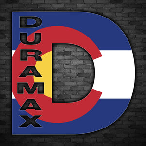 Duramax Flag Decal